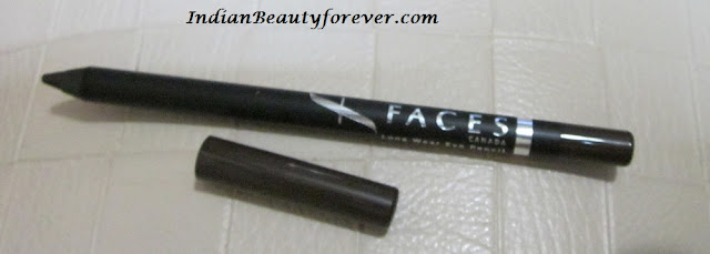 Faces Long Wear Eye Pencil Metal Brown