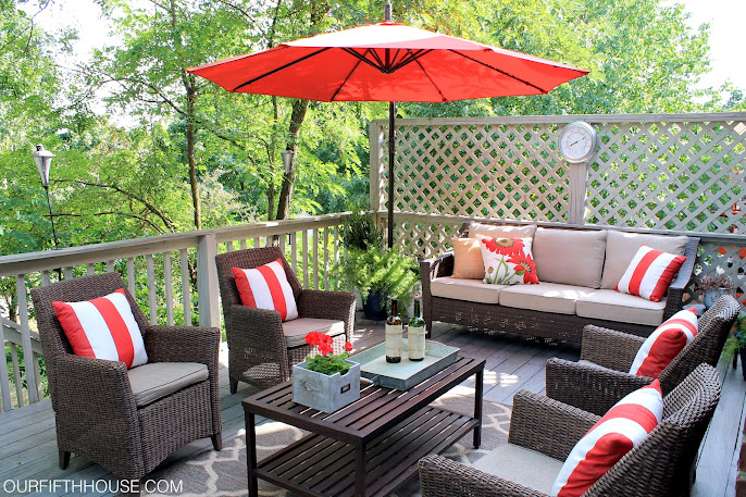 #4 Outdoor Living Room Ideas