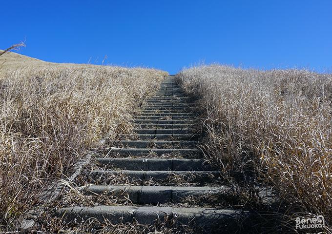 Randonnée Kishima-dake, Mont Aso