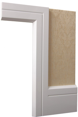The dream home puri villa skirting architrave and cornices for Modern door casing profiles