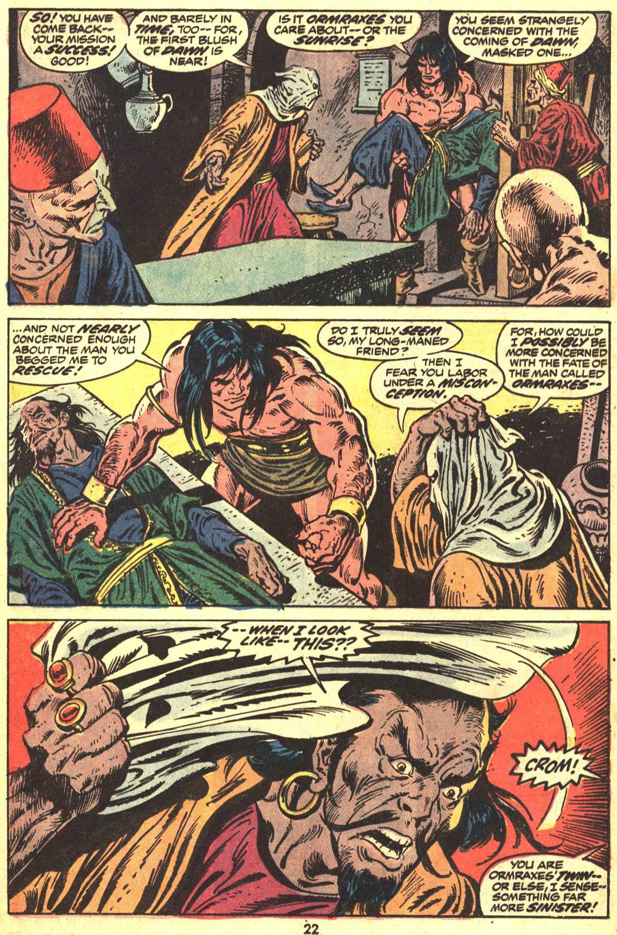 Conan the Barbarian (1970) Issue #29 #41 - English 17