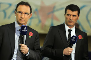 Martin O'Neill and Roy Keane.
