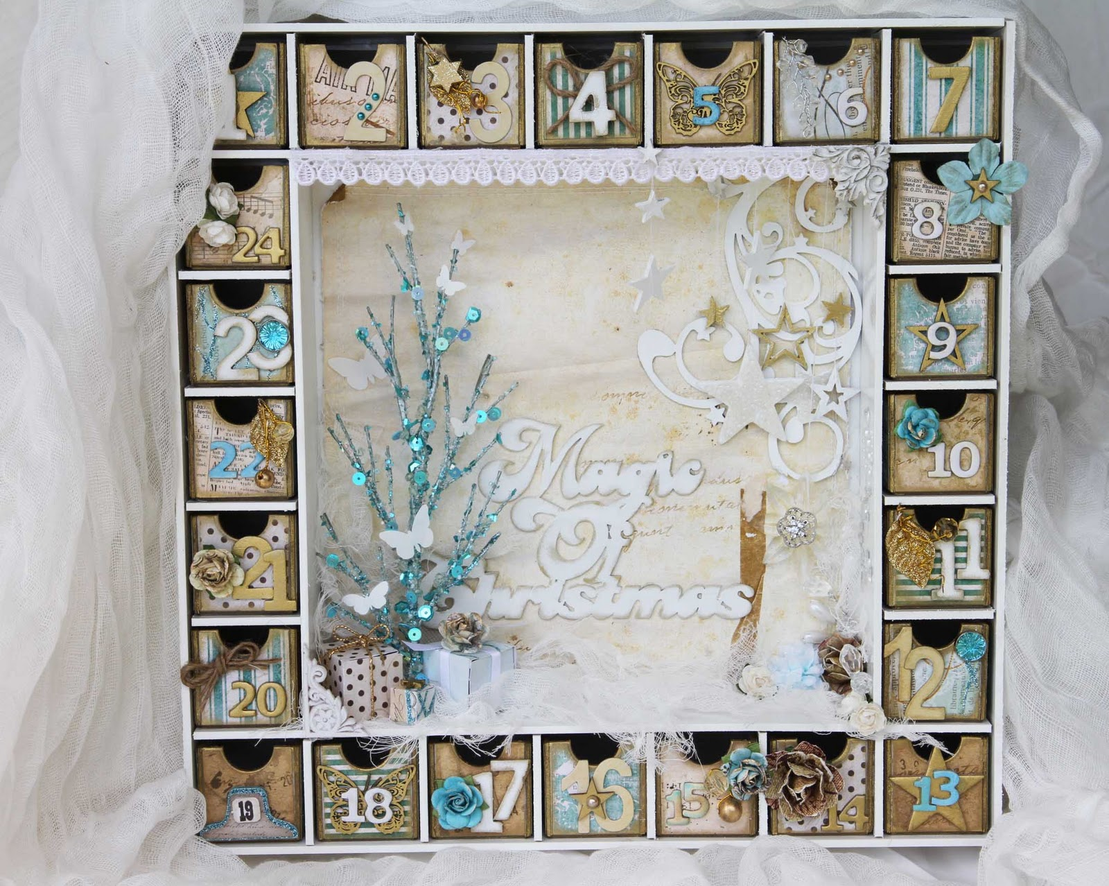 Advent Calendar Diy Kit : Today my advent calendar a little tutorial