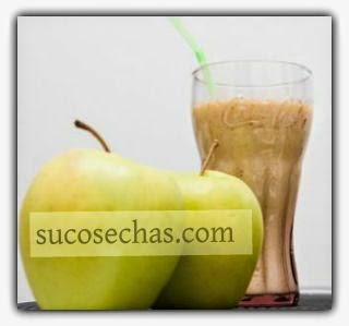 Shake proteico de maçã