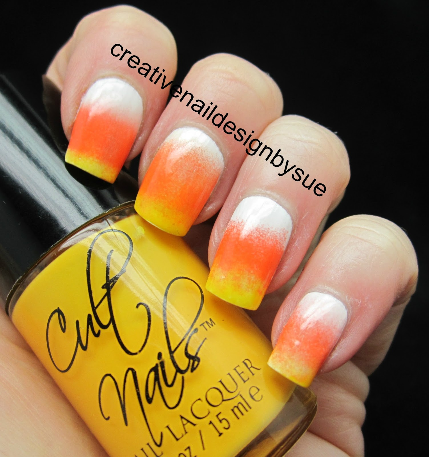 Creative Nail Design By Sue Candy Corn Could I Not
