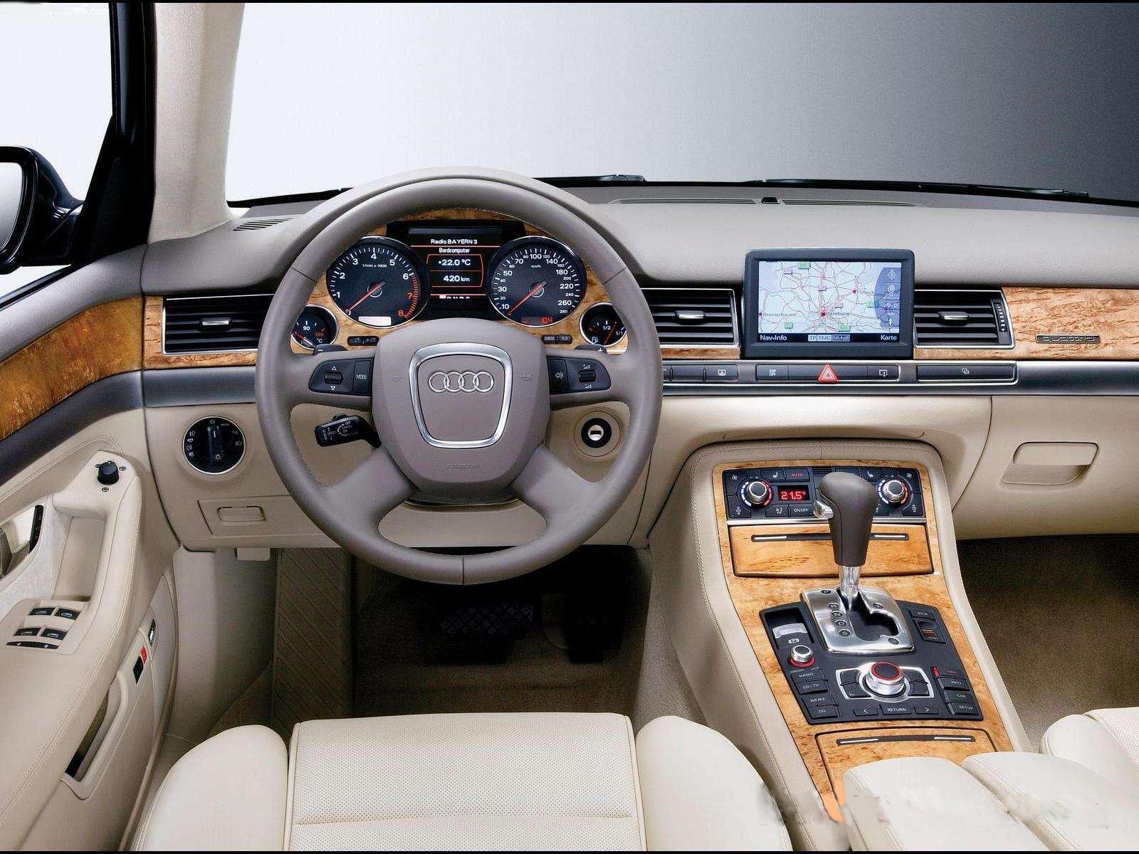 Audi a8 l 6 0 w12 quattro 2004 picture 3 of 5 rear angle image - Audi A8 L Interior