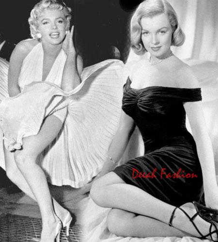 Gaya Busana Marilyn Monroe Elegan Berkelas
