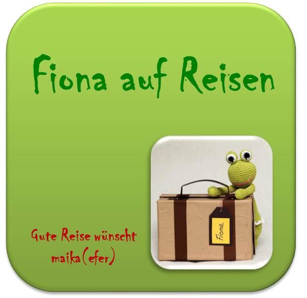 Fiona auf Reisen