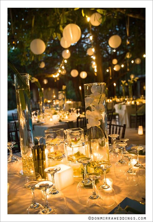 A beautiful reception setting