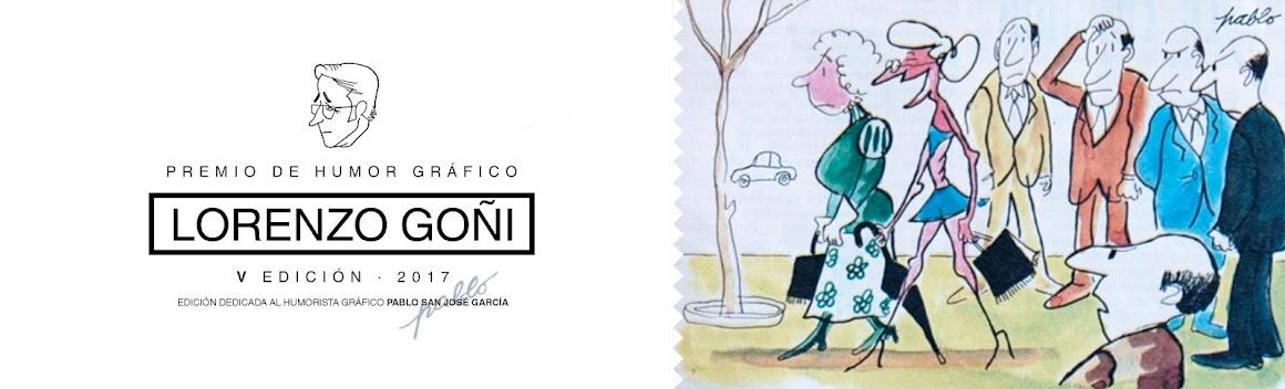 PREMIO DE HUMOR GRÁFICO LORENZO GOÑI - V EDICIÓN 2017