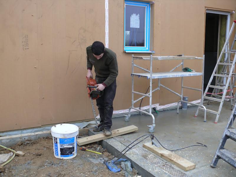 Maison structure bois isolation paille construction garage for Isolation construction