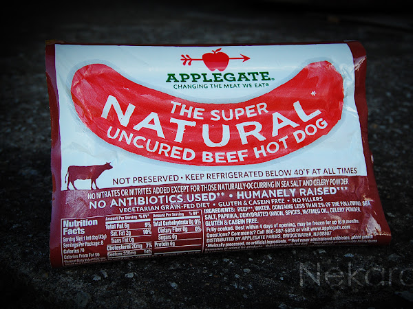 Natural + Organic = HOT DOG!