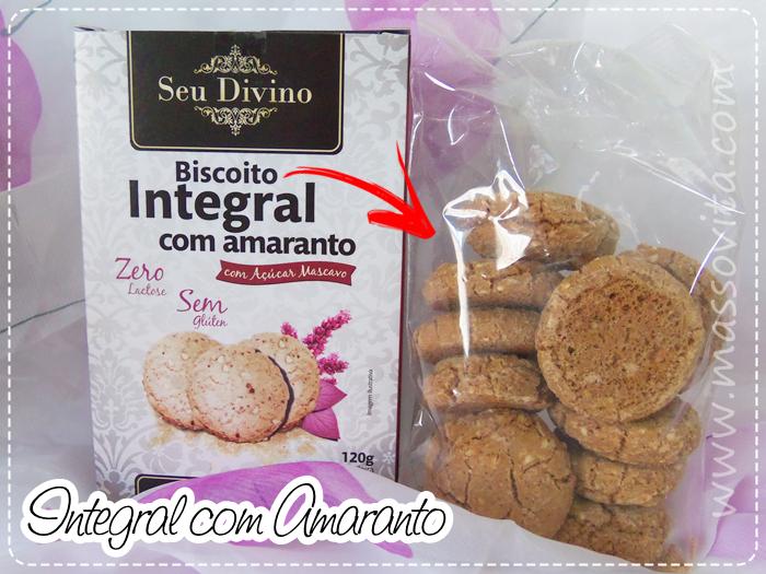 Cookies Integral com Amaranto
