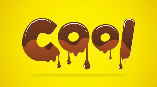 Tutorial: Efek Teks Berlumur Coklat dengan Illustrator ~ Desain Grafis