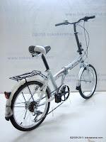 4 Sepeda Lipat VIVA NEXUS 7 Speed Shimano 20 Inci