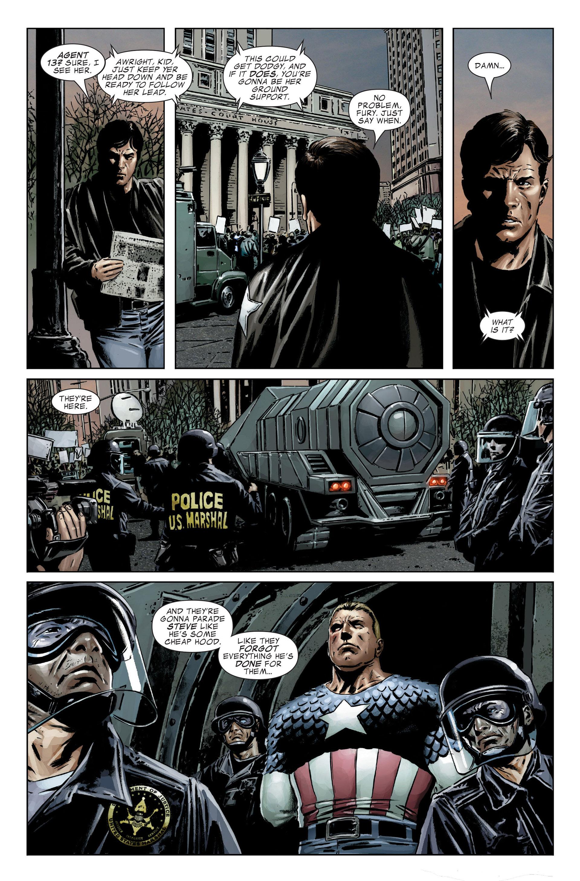 Captain America (2005) Issue #25 #25 - English 11