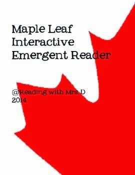 http://www.teacherspayteachers.com/Product/Maple-Leaf-Numbers-Emergent-Interactive-Reader-1289940
