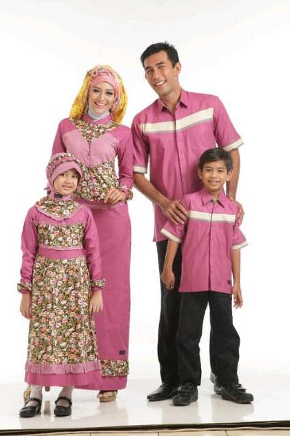 Aneka%2BModel%2BBaju%2BMuslim%2BKeluarga contoh model baju muslim modern untuk keluarga terbaru 2015,Model Baju Muslim 1 Keluarga