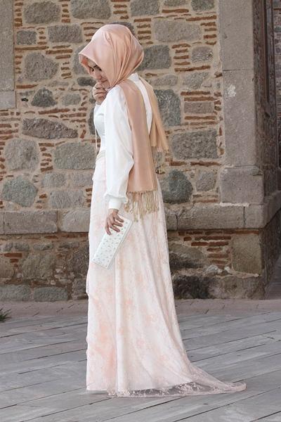 Pınar Şems 2013 Tesettür Abiye Modelleri