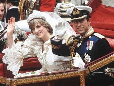 princess diana wedding day photo. princess diana wedding day