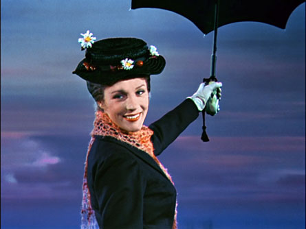 Mary Poppins Black Hat Mary Poppins Hat Right