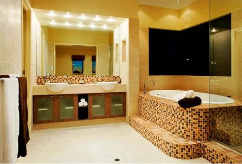 Arredamenti moderni idee bagno qualche foto per ispirarvi for Mosaico arredamenti