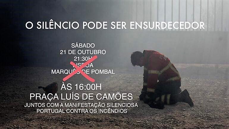 21 de outubro, 16h: Lisboa