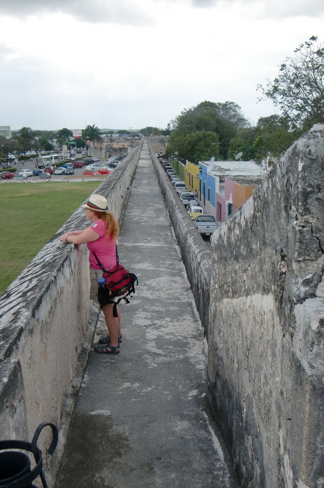 Adventure at sea day 5 ticul and campeche fort fun for Jardin botanico xmuch haltun
