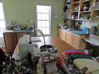 After quilting studio clean out