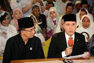 Dubes Paraguay masuk Islam (foto Rol)