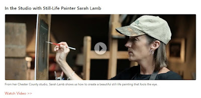 In the Studio with Still-Life Painter Sarah Lamb