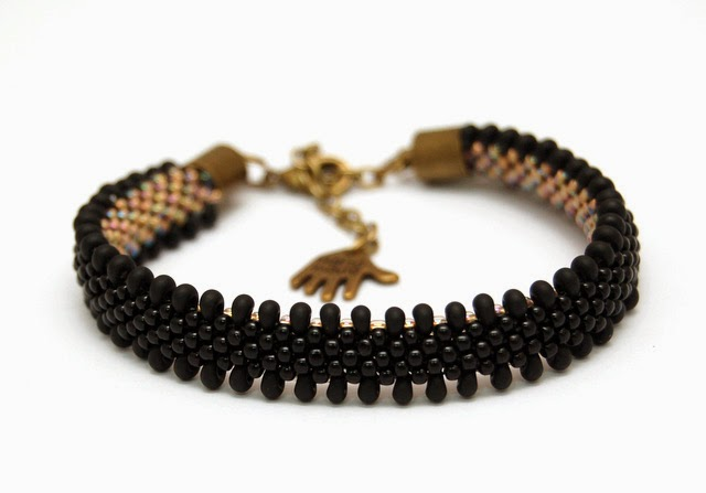 bransoletka koralikowa bead crochet bracelet inati zare 22