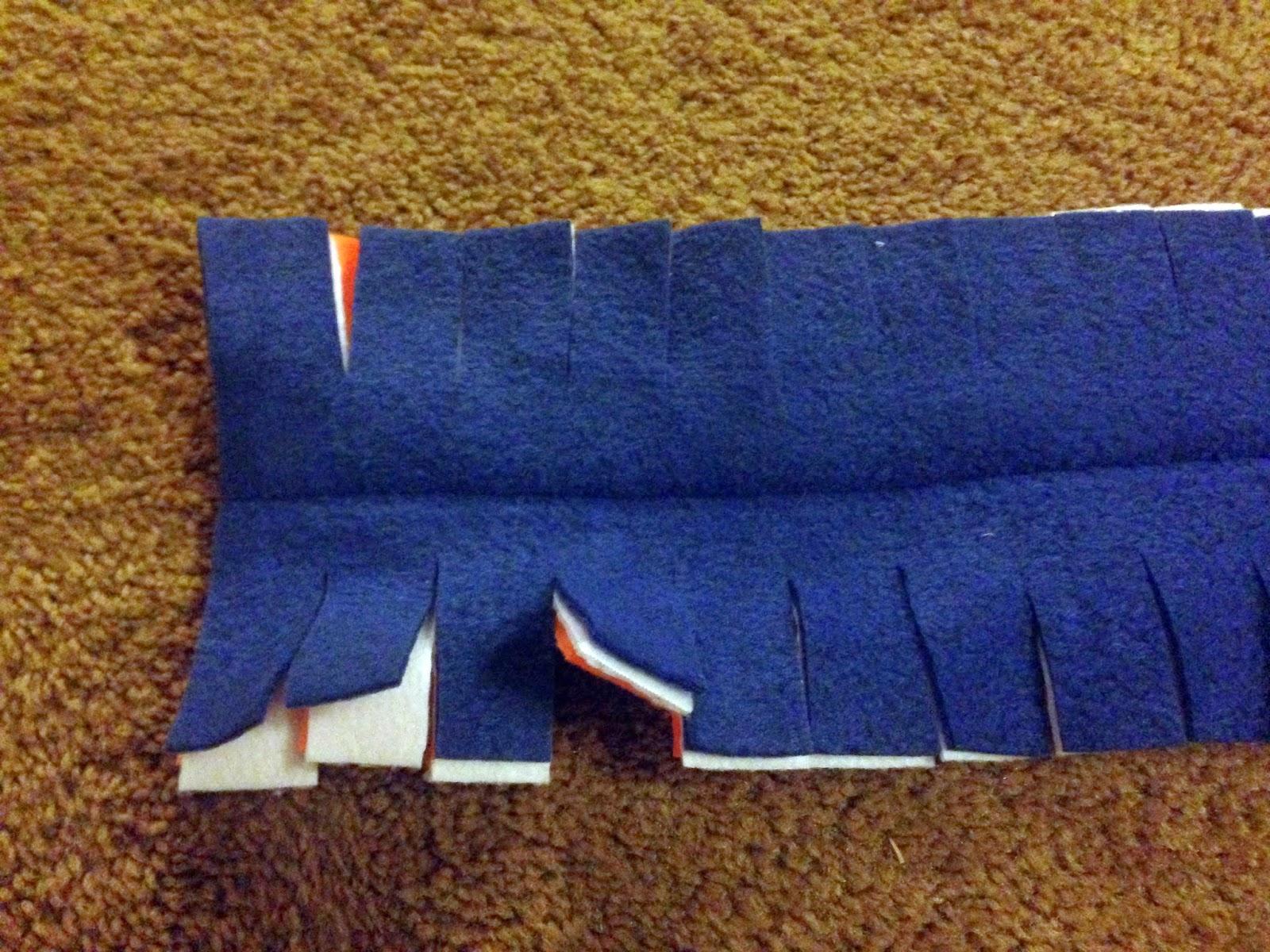 3 способа сделать шарф из флиса Шитье 50