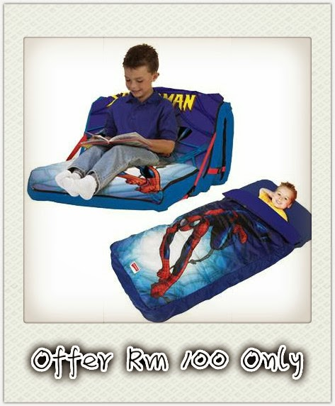 Offer Spiderman Slumber bed