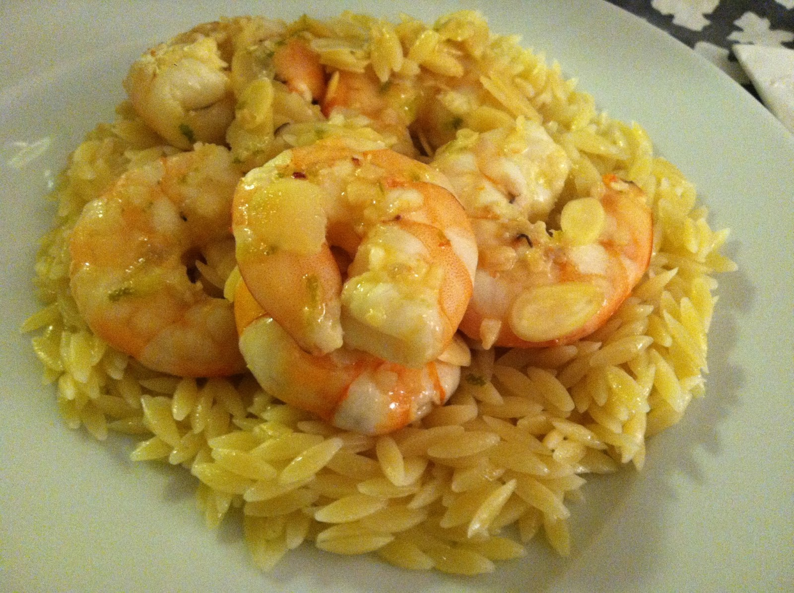 Sauteed Shrimp Marinated in Honey and Lime