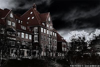 renströmska, sjukhuset, sanatoriet, göteborgs sanatorium, björkekärr, brf, bostadsrättsföreningen renströmska, gammalt sanatorium, nedlagt sjukhus, spökhus, ivan olsson, vittskövle, studiegången, rosenlund, studentlägenhet, göteborg, foto anders n