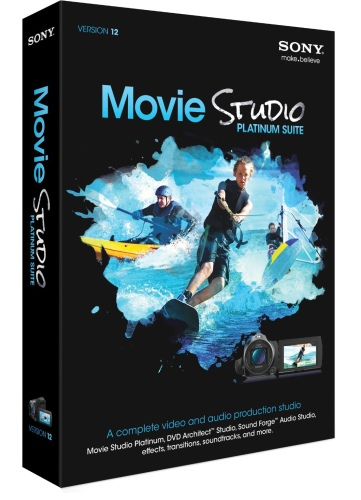 Movie Studio Platinum 12 Suite License