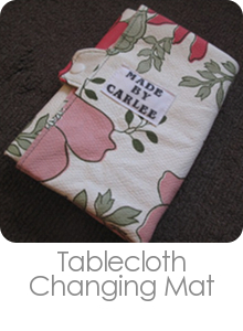 Tablecloth Changing Mat