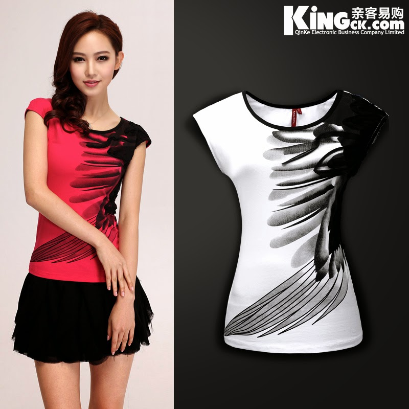 Tops new t shirts for men 2015 for Designer tee shirts womens