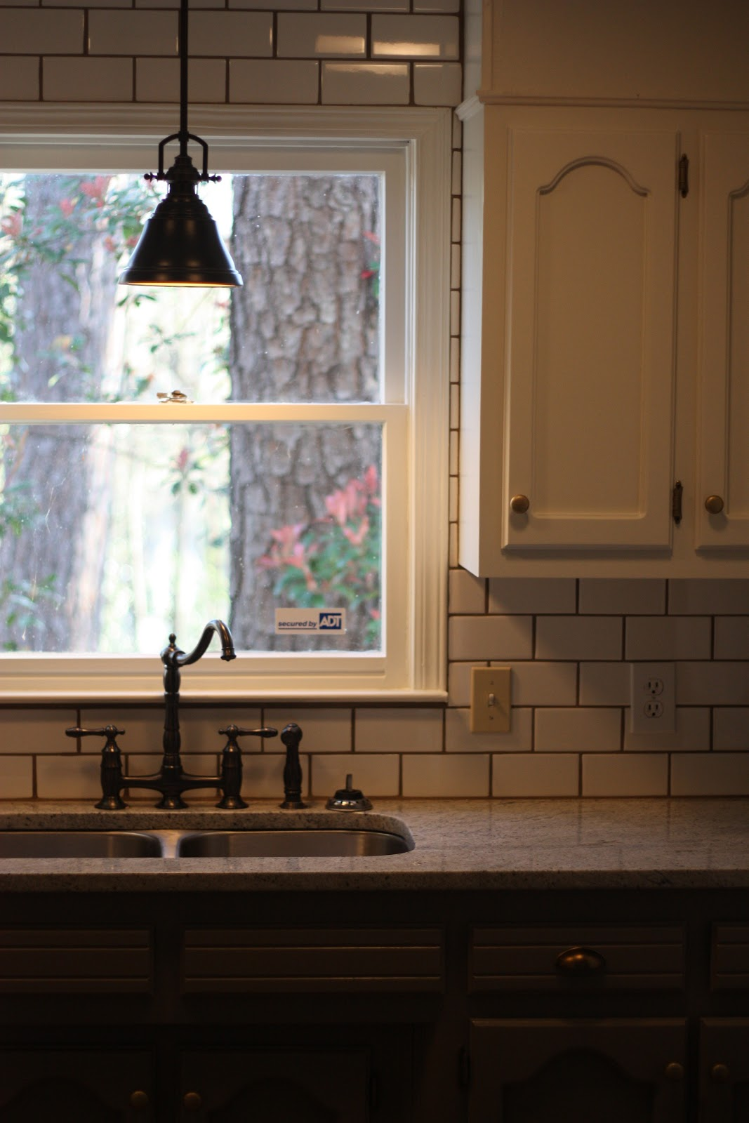 Kitchen Wall Light Over Sink : How Sweet It Is...: Kitchen Update