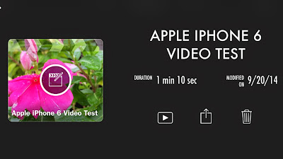 Apple iMovie for iOS 8 Apple mobile devices