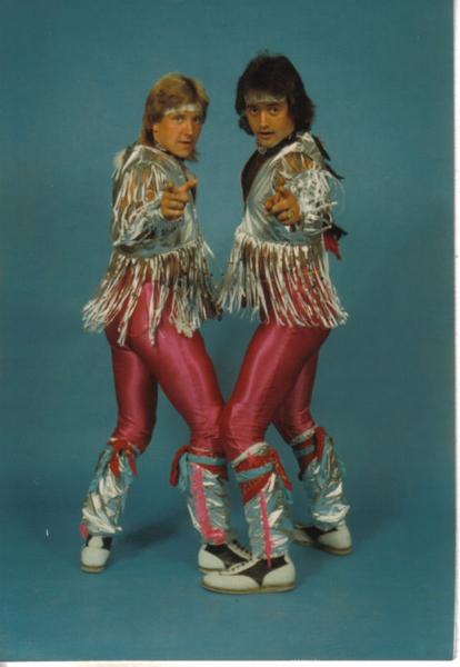 Vintage everyday fancy 1980s wrestlers for Acid song 80s