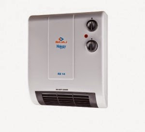 Snapdeal: Buy Bajaj Majesty RX14 WallMount Fan Room Heater at Rs.2236