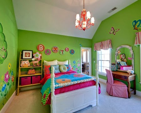 Kamar tidur anak minimalis modern 8