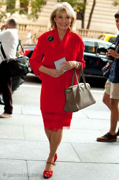 BIRKIN WATCHER: Barbara Walters