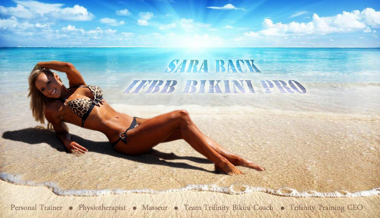 Sara Back IFBB Bikini Pro