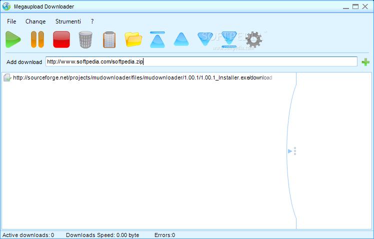 برنامج للتحميل من موقع الميجا ابلود Portable Megaupload Downloader
