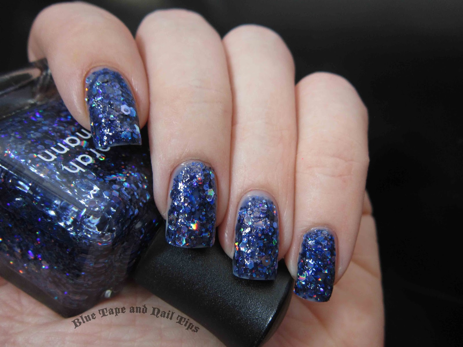 Blue Tape and Nail Tips: Deborah Lippmann Va Va Voom and Rolling in ...