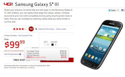Verizon Galaxy S3 Deal Singals the Arrival of Galaxy S4