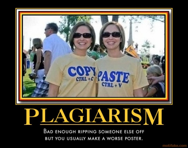 Funny Picture About Plagiarism